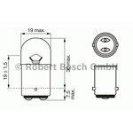 Żarówka (pomocnicza) R5W BOSCH Pure Light - karton 1 szt., cokołowa
