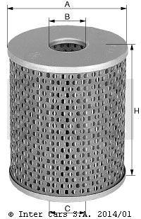 Filtr oleju MANN FILTER H 932/2 t