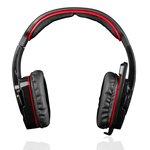 Słuchawki z mikrofonem MODECOM  MDC 829-ALIEN-RED
