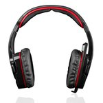Słuchawki z mikrofonem MODECOM  MC 829-ALI-RED