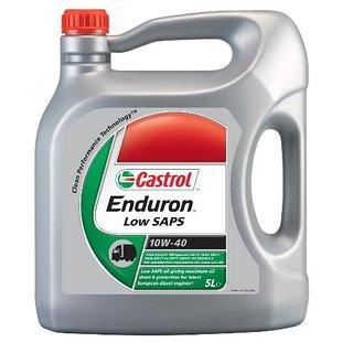 Olej półsyntetyczny CASTROL ENDURON LOW SAPS 10W40, 5 litrów