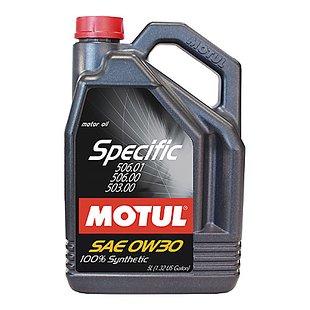 Olej MOTUL Specific 0W30, 5 litrów
