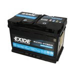 Akumulator EXIDE MICRO-HYBRID AGM EK700 - 70Ah 760A P+