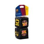 Kostki czarne FC BARCELONA