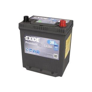 Akumulator EXIDE PREMIUM EA386 - 38Ah 300A P+