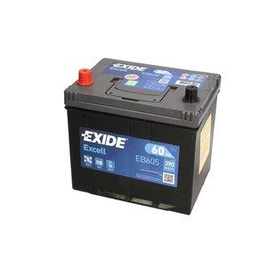 Akumulator EXIDE EXCELL 60Ah 390A L+