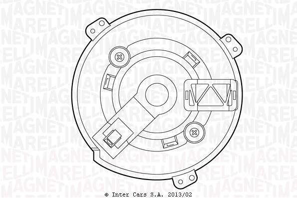 Silnik dmuchawy MAGNETI MARELLI 069412520010