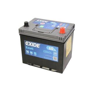 Akumulator EXIDE EXCELL 60Ah 390A P+