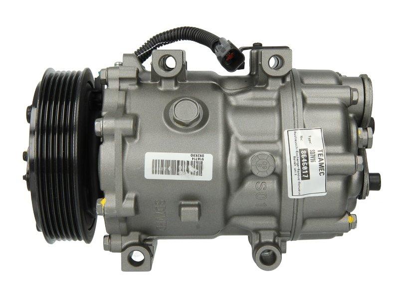 Kompresor klimatyzacji TEAMEC 8646017 - darmowa dostawa do 5000 warsztatów Motointegrator Partner i 170 sklepów Inter Cars