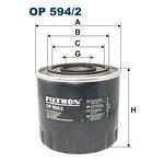 Filtr oleju FILTRON OP594/2