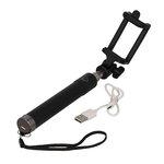 """Uchwyt do telefonu """"Selfie"""" - długość: 155-800 mm + bateria 60 mAh"""