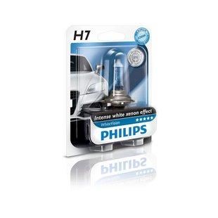 Żarówka (halogenowa) H7 PHILIPS WhiteVision - blister 1 szt.