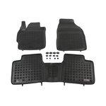 Toyota Corolla XI od 2013 wykładzina bagażnika REZAW-PLAST, 3 sztuki, czarne