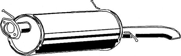 Tłumik układu wydechowego ASMET 11.007