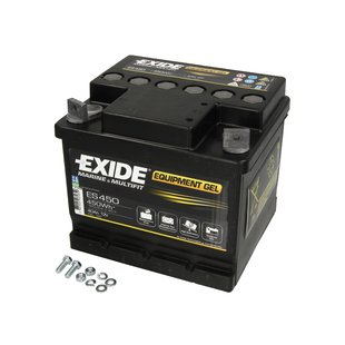 Akumulator EXIDE EQUIPMENT GEL ES4500 - 40Ah 450Wh P+