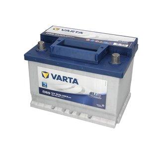 Akumulator VARTA BLUE DYNAMIC D59 - 60Ah 540A P+ - Montaż w cenie przy odbiorze w warsztacie!