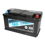 Akumulator 4MAX ECOLINE 100Ah 800A P+