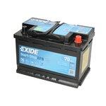 Akumulator EXIDE MICRO-HYBRID ECM EL700 - 70Ah 630A L+