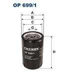 Filtr oleju FILTRON OP699/1