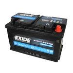 Akumulator EXIDE MICRO-HYBRID AGM EK800 - 80Ah 800A P+
