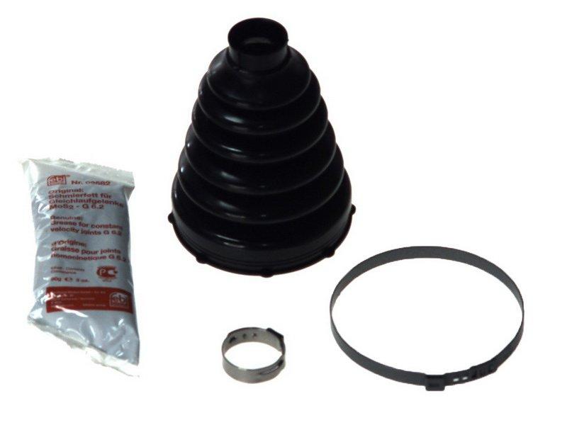 Zestaw osłon gumowych przegubu półosi napędowej FEBI 06131 - darmowa dostawa do 5000 warsztatów Motointegrator Partner i 170 sklepów Inter Cars