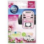 Zapach samochodowy AMBI PUR Flowers & Spring - urządzenie+wkład