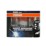 Lampa wyładowcza (ksenonowa) D2S OSRAM Xenarc Night Breaker Unlimited 4350K - 2 szt. set